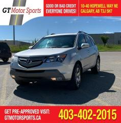 Used 2007 Acura MDX Elite Pkg | $0 DOWN - EVERYONE APPROVED! for sale in Calgary, AB