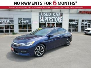 Used 2016 Honda Accord EXL, Leather, Lane Keep Assist, Sunroof. for sale in Niagara Falls, ON