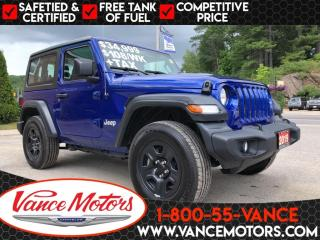 Used 2019 Jeep Wrangler Sport 4x4...HARD TOP*BACKUP CAM*TOW! for sale in Bancroft, ON