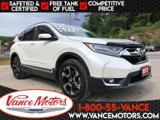Used 2017 Honda CR-V Touring AWD...LEATHER*NAV*HTD SEATS! for sale in Bancroft, ON