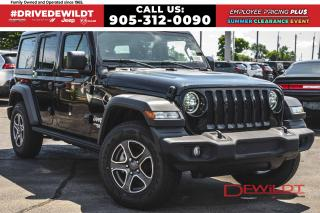 New 2020 Jeep Wrangler UNLIMITED SPORT | DUAL TOPS | ALPINE SOUND | for sale in Hamilton, ON