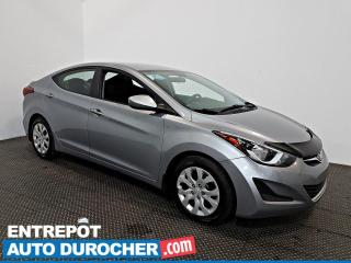 Used 2015 Hyundai Elantra GL AIR CLIMATISÉ - Sièges Chauffants for sale in Laval, QC