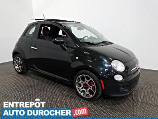 Used 2013 Fiat 500 Sport TOIT OUVRANT - A/C - Sièges Chauffants for sale in Laval, QC