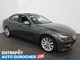 Used 2014 BMW 3 Series 320i xDrive AWD Toit Ouvrant - A/C - Cuir for sale in Laval, QC