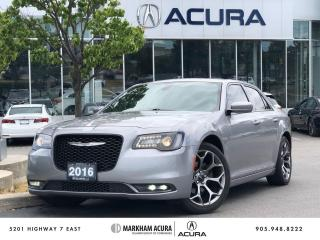 Used 2016 Chrysler 300 S RWD for sale in Markham, ON