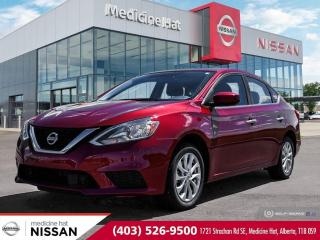 Used 2018 Nissan Sentra S for sale in Medicine Hat, AB