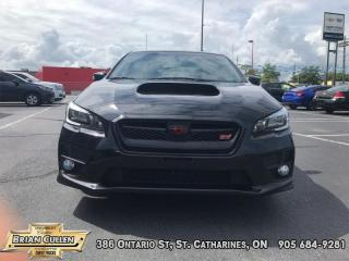 Used 2017 Subaru WRX STI  - Certified - Low Mileage for sale in St Catharines, ON