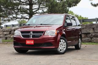 Used 2016 Dodge Grand Caravan 4dr Wgn SXT | Power Windows | Accident Free! for sale in Waterloo, ON