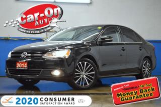 Used 2014 Volkswagen Jetta 1.8 TSI Highline LEATHER NAV SUNROOF REAR CAM LOW for sale in Ottawa, ON