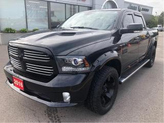 Used 2016 RAM 1500 4WD Crew Cab 140.5  Sport for sale in Hamilton, ON