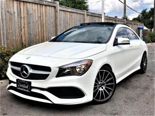 Used 2017 Mercedes-Benz CLA-Class CLA250 4MATIC AMG PREMIUM SPORT PKG-PANOROOF-NO ACCIDENTS for sale in Toronto, ON