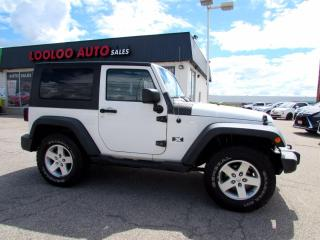 Used 2008 Jeep Wrangler X 4WD NO ACCIDENT AUTOMATIC CERTIFIED for sale in Milton, ON