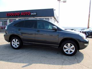 Used 2007 Lexus RX 350 ULTRA PREMIUM AWD NAVI CAMERA DVD CERTIFIED for sale in Milton, ON