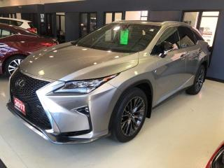Used 2017 Lexus RX 350 F-Sport 4DR FWD AT for sale in Mississauga, ON