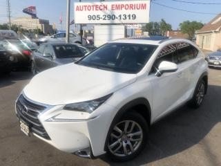 Used 2015 Lexus NX 200t Premium-Luxury Navigation/Leather/Sunroof for sale in Mississauga, ON