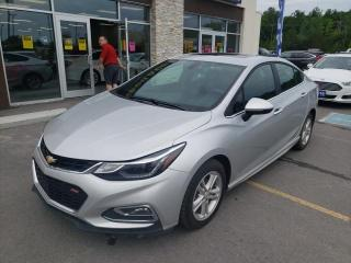 Used 2017 Chevrolet Cruze LT Auto Remote Start Heated Seats Backup Camera for sale in Trenton, ON