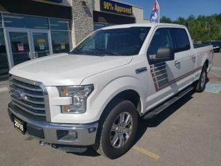 Used 2016 Ford F-150 XLT SuperCrew Cab 4x4 5.0L for sale in Trenton, ON