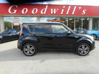 Used 2015 Kia Soul SX! HEATED LEATHER! REMOTE START! BLUETOOTH! for sale in Aylmer, ON