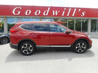 Used 2018 Honda CR-V TOURING! HEATED LEATHER! NAV! BACKUP CAM! for sale in Aylmer, ON