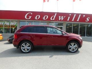 Used 2013 Ford Edge LTD! HEATED LEATHER! REMOTE START! SUNROOF! for sale in Aylmer, ON