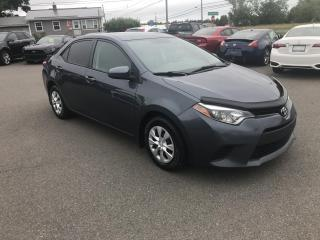Used 2015 Toyota Corolla LE for sale in Truro, NS