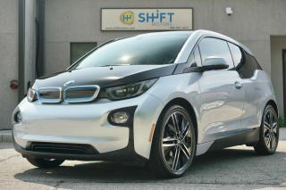 Used 2014 BMW i3 BASE WITH RANGE EXTENDER GIGA WORLD, CARFAX CLEAN! for sale in Burlington, ON