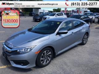 Used 2017 Honda Civic Sedan EX  EX, SUNROOF, AUTO, REAR CAM, BLIND ZONE, HONDA SENSE for sale in Ottawa, ON