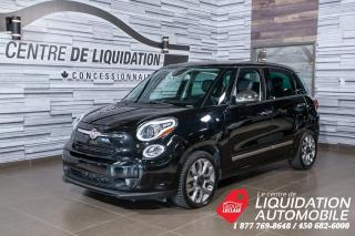 Used 2015 Fiat 500 L Lounge,MAGS,GR/ÉLECT,A/C,CAM/REC,TOIT,GPS,CUIR for sale in Laval, QC