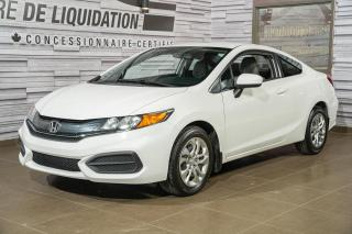 Used 2015 Honda Civic LX+GR ELECTRIQUE+AIR CLIM for sale in Laval, QC