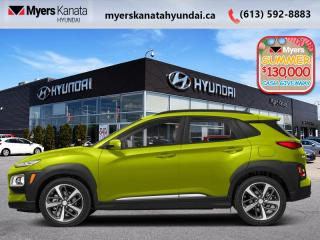 New 2020 Hyundai KONA 1.6T Ultimate AWD w/Lime Colour Pack  - $212 B/W for sale in Kanata, ON
