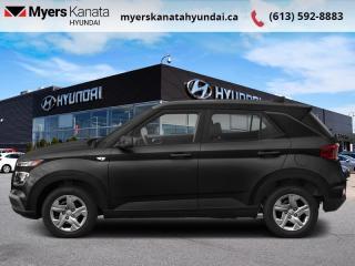 New 2020 Hyundai Venue Ultimate Black  - $169 B/W for sale in Kanata, ON