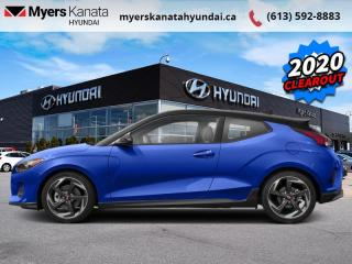 New 2020 Hyundai Veloster Turbo Manual w/Two-Tone Paint for sale in Kanata, ON