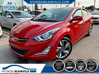 Used 2016 Hyundai Elantra GLS, TOIT, MAGS, BLUETOOTH, BANCS CHAUFF for sale in Blainville, QC