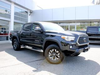 Used 2018 Toyota Tacoma TRD Off Road Double Cab 5' Bed V6 4x4 MT (Natl) for sale in Surrey, BC