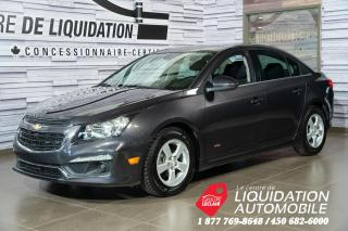 Used 2016 Chevrolet Cruze 2LT+TOIT OUV.+BLUETOOTH+CAM. RECUL for sale in Laval, QC