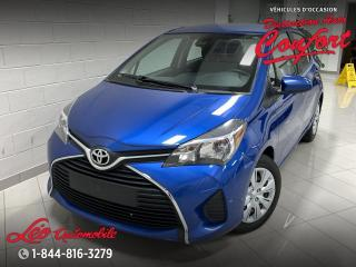 Used 2017 Toyota Yaris Hatchback Hayon 5 portes, boîte manuelle, LE for sale in Chicoutimi, QC