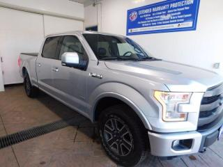 Used 2015 Ford F-150 LARIAT CREW LEATHER NAVI for sale in Listowel, ON