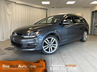 Used 2016 Volkswagen Golf Sportwagen 1.8 TSI Highline, Navigation, Automatique for sale in Sherbrooke, QC
