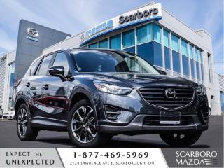 Used 2016 Mazda CX-5 1.5%@FINANCE|CPO|GT|TECH|CLEAN CARFAX for sale in Scarborough, ON