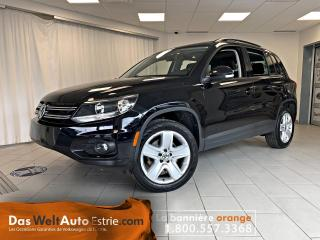 Used 2016 Volkswagen Tiguan 4MOTION  Comfortline, Ensemble Sport, Bas Kilo! for sale in Sherbrooke, QC