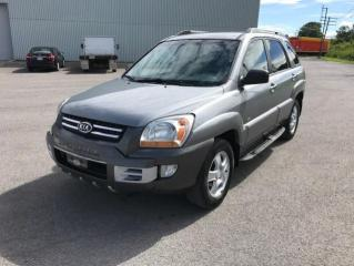 Used 2007 Kia Sportage Traction intégrale 4 portes V6, boîte au for sale in Quebec, QC