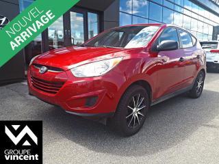 Used 2011 Hyundai Tucson GL ** GARANTIE 10 ANS ** VUS de taille intermédiaire parfait pour la ville et l'espsace! for sale in Shawinigan, QC