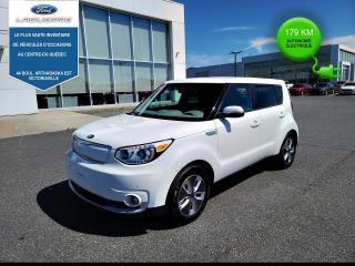 Used 2018 Kia Soul EV SOUL ELECTRIC 179 KM AUTONOMIE for sale in Victoriaville, QC