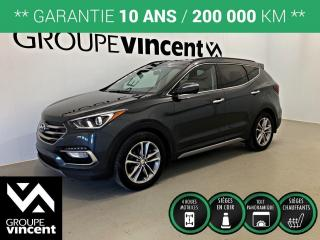 Used 2017 Hyundai Santa Fe SPORT SE 2.0T AWD CUIR TOIT ** GARANTIE 10 ANS ** Confortable et logeable! for sale in Shawinigan, QC
