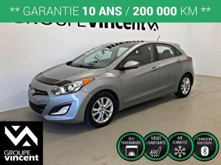 Used 2013 Hyundai Elantra GT GLS ** GARANTIE 10 ANS ** Fiable et pratique! for sale in Shawinigan, QC