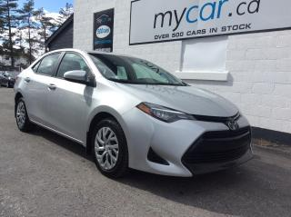 Used 2018 Toyota Corolla LE HEATED SEATS, BACKUP CAM, POWERGROUP!! for sale in Kingston, ON