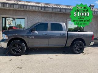 Used 2016 RAM 1500 4WD Crew Cab 140.5  SLT for sale in Winnipeg, MB