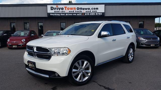 2011 Dodge Durango CREW PLUS 4X4  **LEATHER**MOONROOF**DVD**