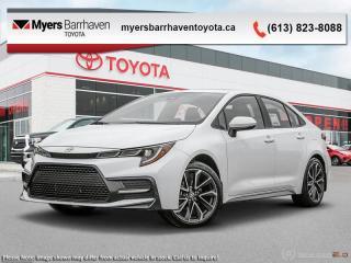 New 2020 Toyota Corolla SE  - Upgraded Motor -  Aerodynamics - $154 B/W for sale in Ottawa, ON