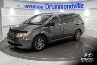 Used 2012 Honda Odyssey EX-L + DVD + GARANTIE + CUIR + CAMERA + for sale in Drummondville, QC